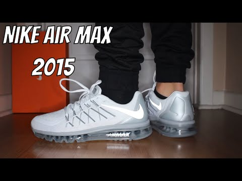 Nike Air Max 2016 White On Feet