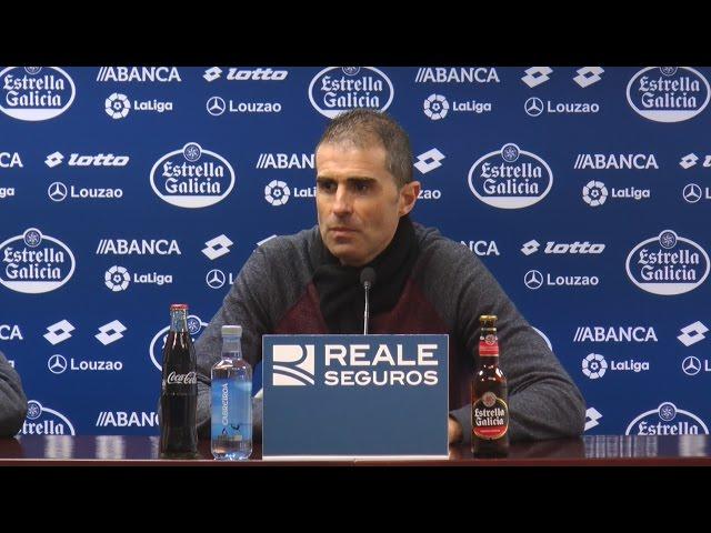 Rueda de prensa de Gaizka Garitano tras el partido contra el Villarreal