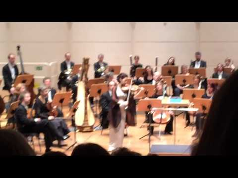 Hilary Hahn Partita Live Dortmund