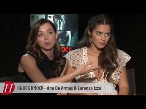 Ana de Armas y Lorenza Izzo: Knock Knock, Keanu Reeves, Redes Sociales  Entrevista en Español
