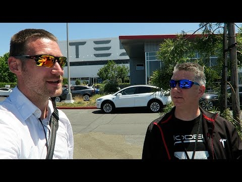 My First Tesla Factory Tour