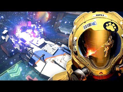 SALVAGING EXPLOSIVE SPACESHIPS! - Hardspace: Shipbreaker Gameplay |