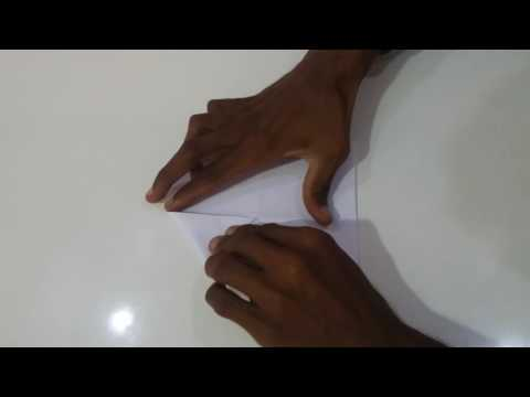 how to a make paper camero