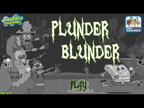 SpongeBob SquarePants: Plunder Blunder - Keep The Ghost Pirates Away (Nickelodeon Games)
