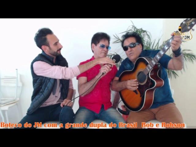 Gravação do Programa Boteco do JM com a dupla Bob e Robson