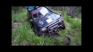 Toyota Hilux Surf . Экстрим(Полный фото отчет с комментариями на http://travel.drom.ru/23080/, 2012-11-11T13:28:36.000Z)