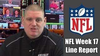 NFL Week 17 Opening Line Report - Betting Odds - Free NFL Picks & Predictions   Winning Free Picks