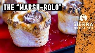 Camping Dessert - Salted Caramel Marshmallows