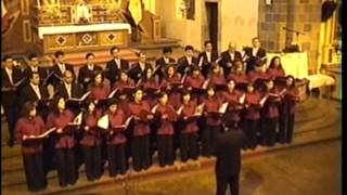 O BONE JESU    Coro Polifonico del Grupo Scotiabank   en Cusco 2007