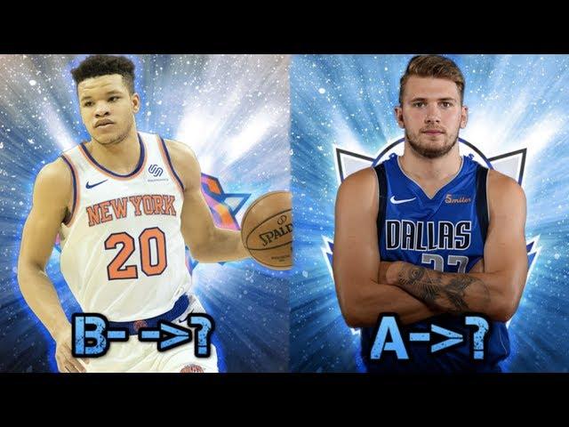 RE-GRADING THE 2017-2018 NBA DRAFT PICKS!  (CRAZY DRAFT STEALS)