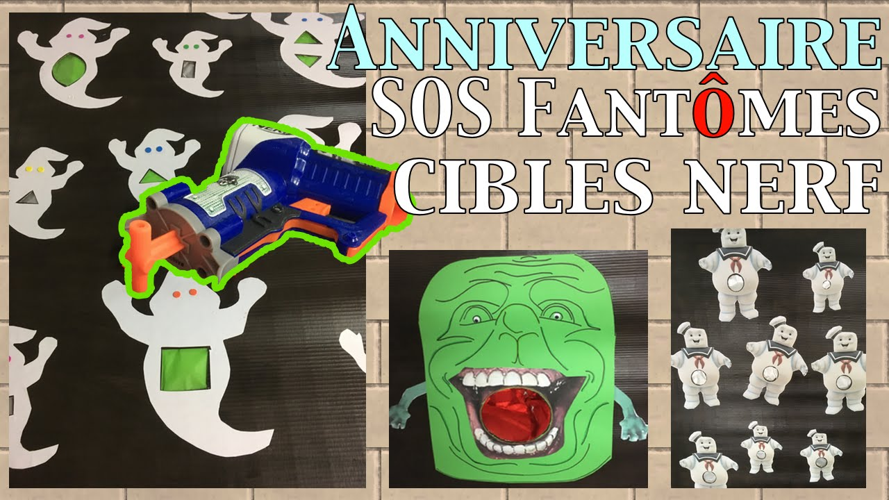 anniversaire cibles fant mes pour nerf sos fant mes 4 youtube. Black Bedroom Furniture Sets. Home Design Ideas