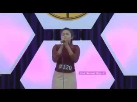 Cindy Lalthanpuii Tlangnuam @ Praise On 2nd Round 2016