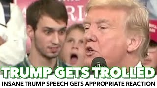Trump Gets Hilariously Trolled During Speech
