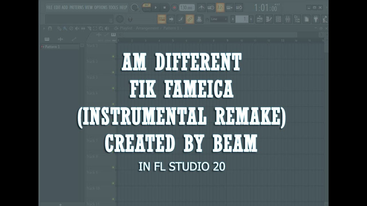 Download Am Different   Fik Fameika Instrumental Remake Beats By Beam