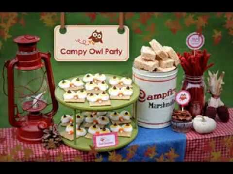 Simple Camping Birthday Party Ideas Youtube