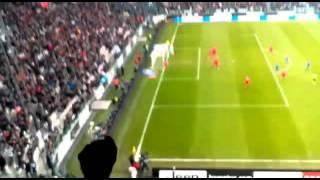 JUVENTUS - Sampdoria 1-1 Gol Evra