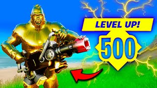 *FIRST EVER* LEVEL 500 in SEASON 6!! - Fortnite Funny and WTF Moments! 1266