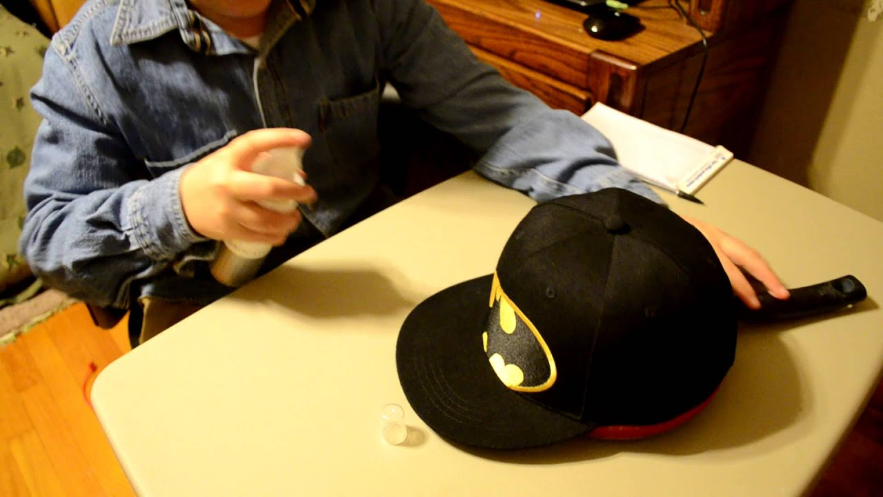 Tutorial #1:How To Fix The Crown Of Your Hat!EASY,SIMPLE, And FUN!