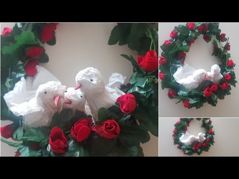 #DIY Tissue paper birds How to make a bird with tissue paper