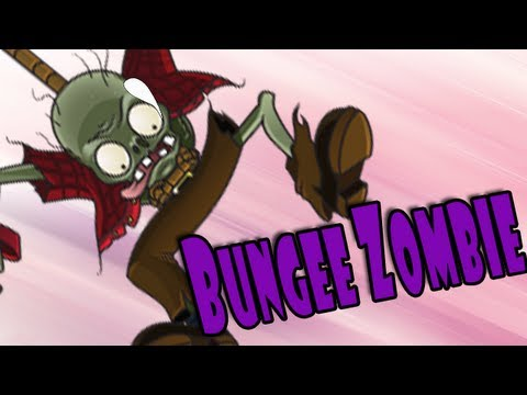 Plants vs Zombies - Bungee Zombie audition Failure!