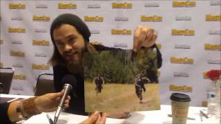 Tom Payne At Mega Con Convention