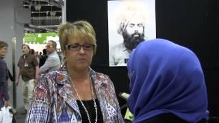 Interview with Désirée Pethrus (KD), Gothenburg Book Fair 2013 - MTA International Sweden Studios