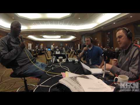 INTERVIEW: Former Georgetown Head Coach John Thompson at the 2014 Final Four