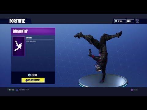 Breakin' - Fortnite Battle Royale (Break Dance Emote)