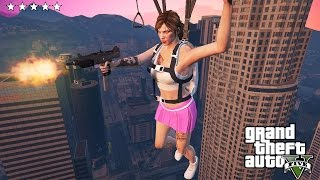 GTA 5 Online - THE MOST FUNNY AND BRUTAL KILLS! (GTA 5 Online Multiplayer Lobby)