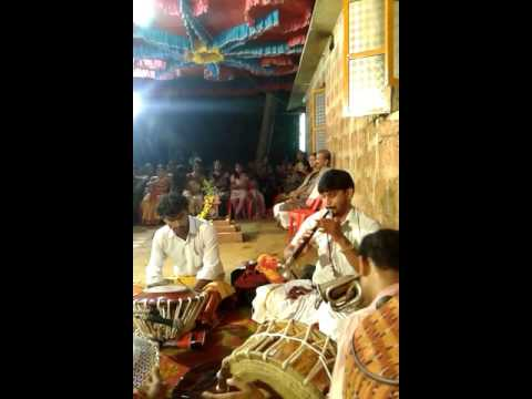 Amazing nagaswara playing talent