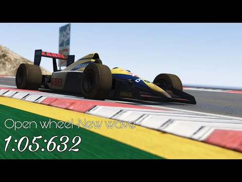 "1:05.632 World Record Lap ""medium Tyre"" 