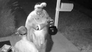 Mom Takes Candy From Kids - Halloween 2015