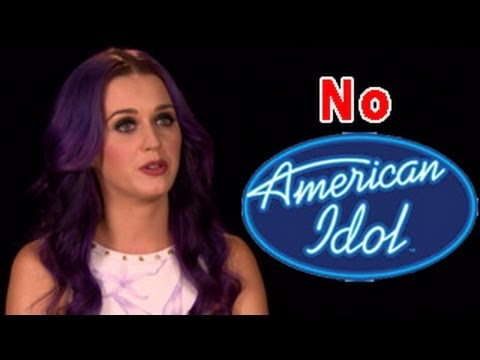 Katy Perry DUMPED and jobless on American Idol