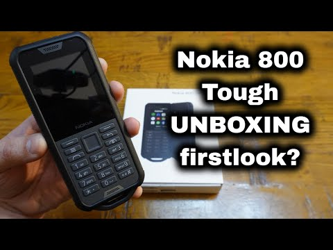 Nokia 800 Tough: Unboxing | First Look | Hands-on