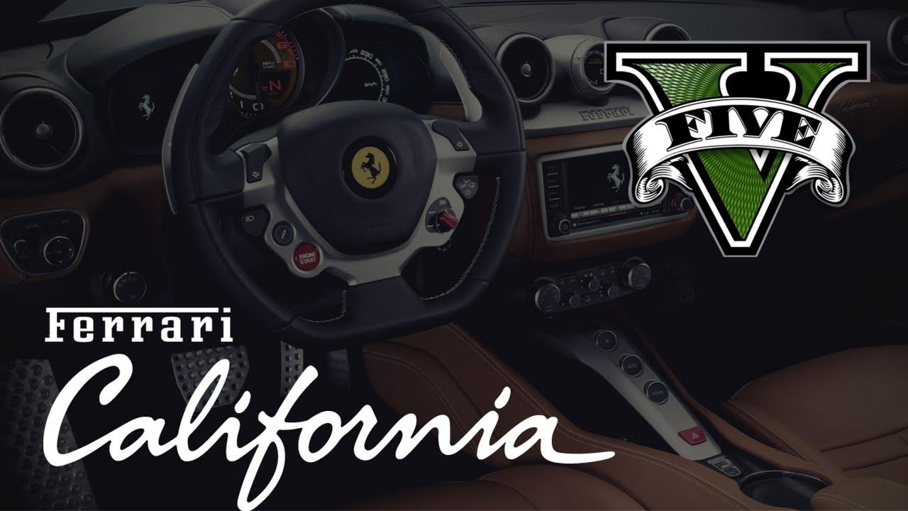 GTA V] Ferrari California T Introduction Video news