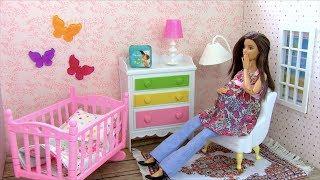 Что вы тут наделали? Или Сюрприз для Беременной Мамы  Мультик #Барби Катя и Семья IkuklaTV