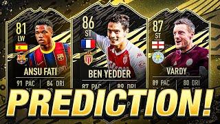 TOTW 1 PREDICTIONS! WED 30TH! FIFA 21