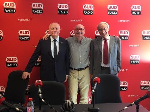 François Asselineau invité de Philippe David sur Sud Radio le 14 septembre 2017