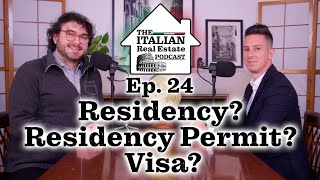 Italian Visa Vs Residency Permit VS Residency in Italy - What are the differences?