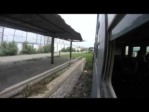 Train ride in Kingston, Jamaica JRC railway