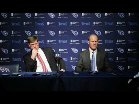 Titans GM Ruston Webster and coach Ken Whisenhunt on Taylor Lewan