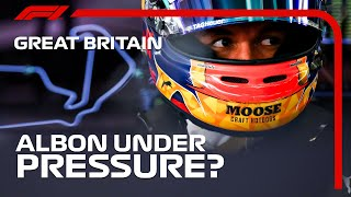Is Alex Albon Really Under Pressure? | 2020 British Grand Prix