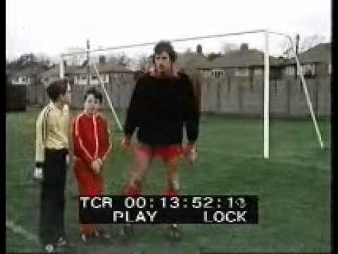 Ray Clemence Goalkeeping Training (World of Sport)
