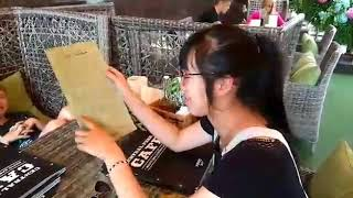 Видео урок №3  Разговор с официантом!