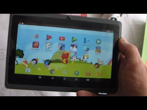 Unboxing The Dragon Touch Y88X Plus 7 Inch Kids Tablet 2017 Disney Edition