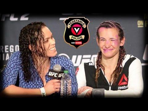 Miesha Tate blames UFC 200 loss to LESBIAN Amanda Nunes on the Ketogenic Diet! - YouTube