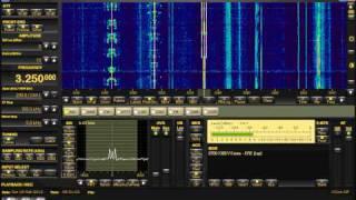 HAARP tones on 3250khz (2-18-2012)