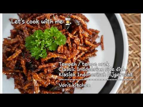 How to cook Tempeh in the classic way/Indonesian side dish || Tempeh || Tempe orek || VK37 #tempeh