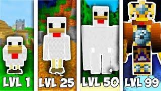 Tavuk Sevİyelerİ!   Minecraft