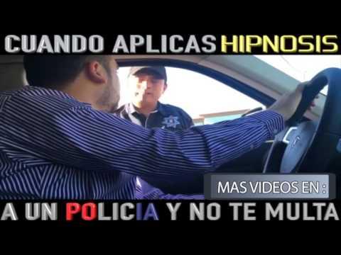 Darian hipnotiza a policia